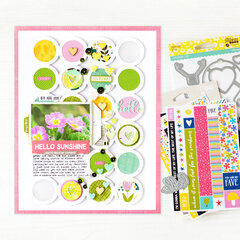 Hello Sunshine Layout | Jillibean Soup