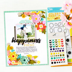 Happiness Found Layout | Jillibean Soup