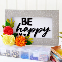 Be Happy - Mix the Media Project | Jillibean Soup