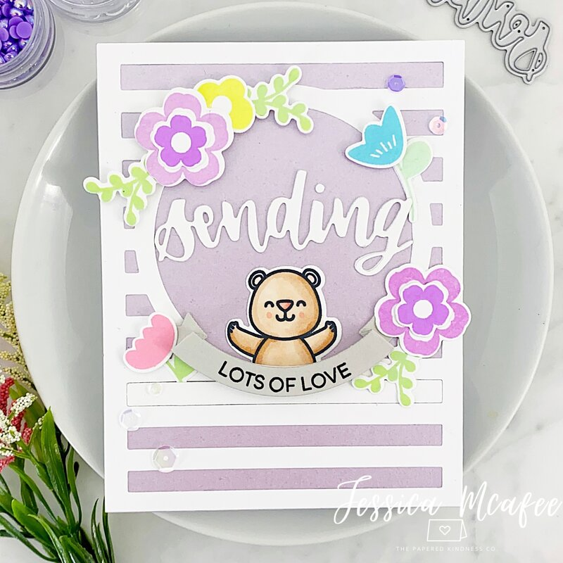 Sweet Thinking of you Card