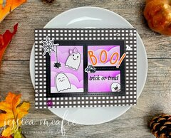 Ink Road Halloween Card
