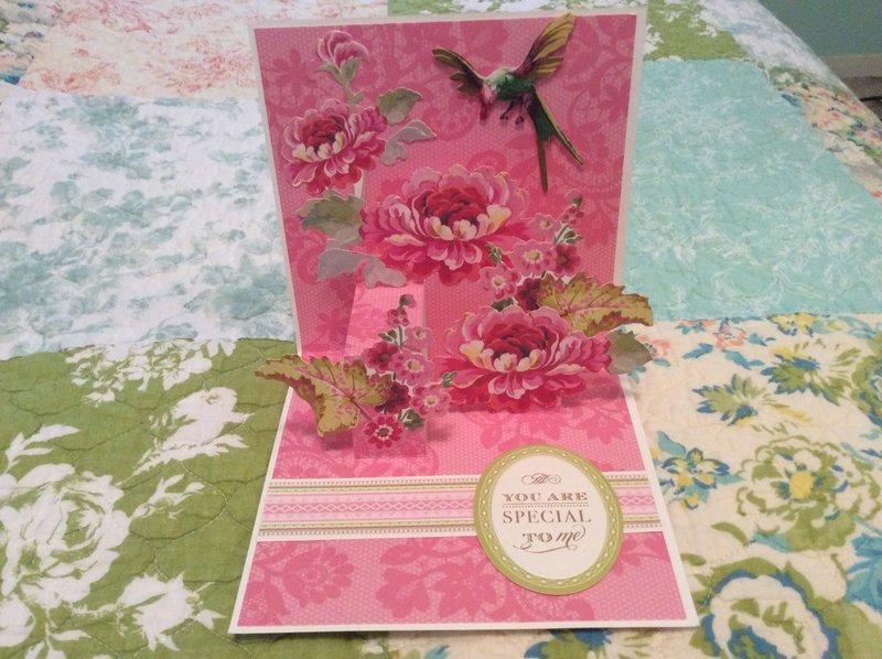 Anna Griffin Pretty Pop Up Card