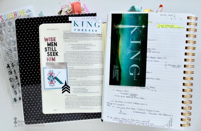 King Forever (bible journaling)