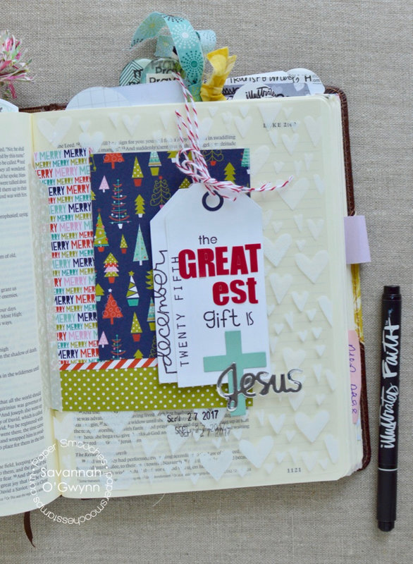 The Greatest Gift (bible journaling)