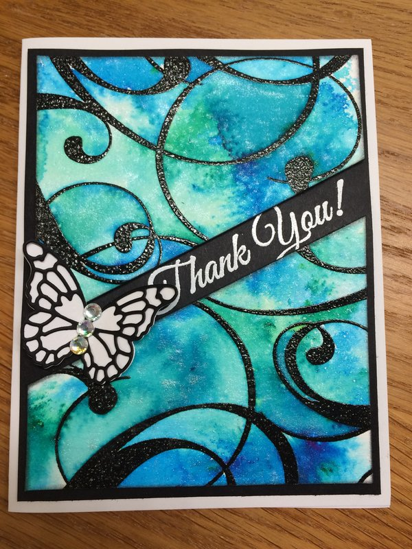 Colorburst Thank You Card