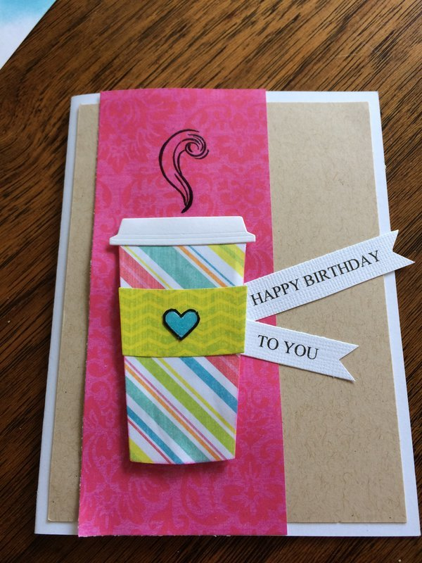 Coffee Birthday Card