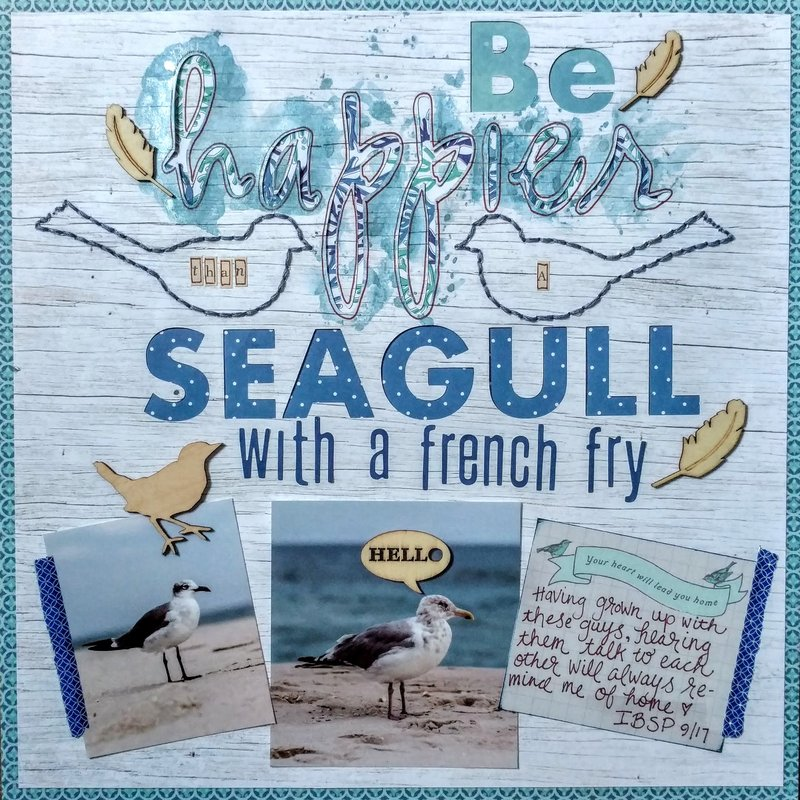 Be Happier than a Seagull with a French Fry
