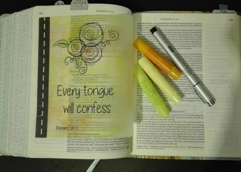 Vellum Bible Art