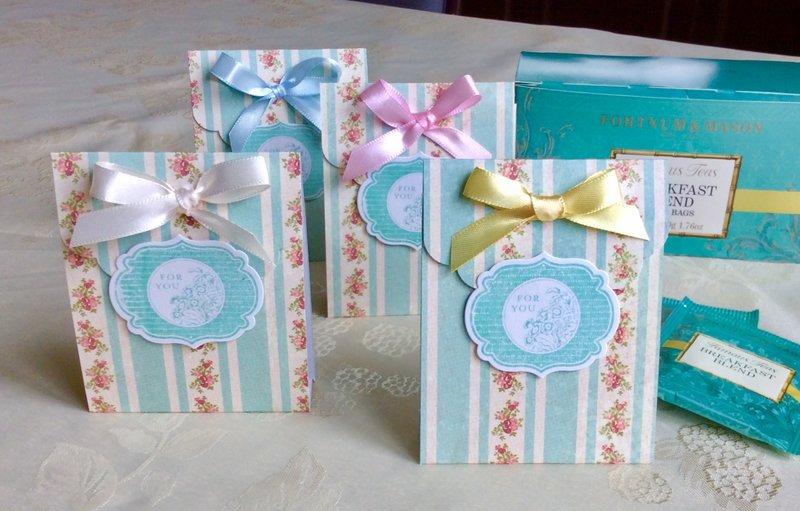 Tea bag gift idea