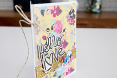 Hello Love Card
