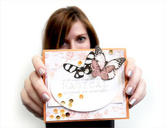 Butterfly Card with Oo La La!