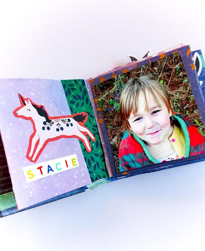 Paper Folded Mini Album