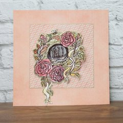 Fall and Roses Wall Art