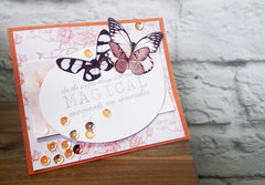 Magical Butterfly Card