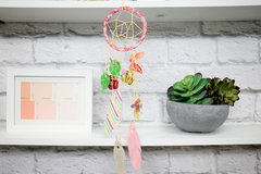 Whimsical Dreamcatcher with Feather Dies!