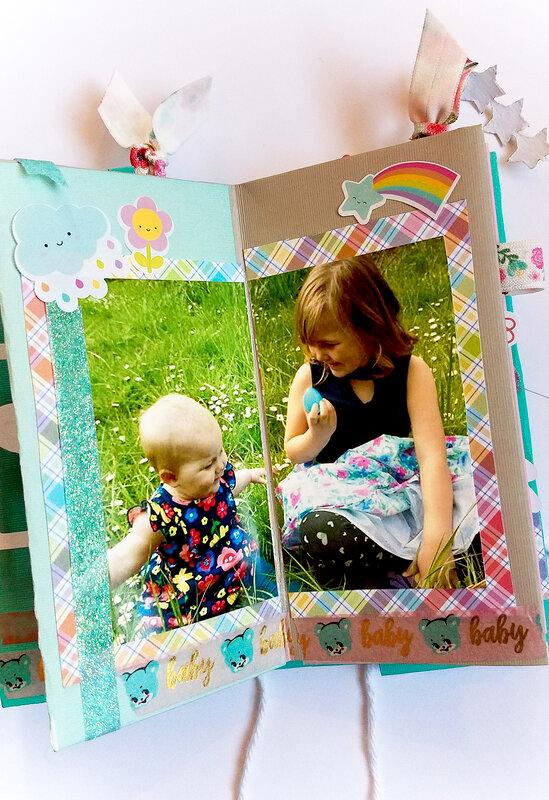 Easter Paper Folding Mini-Album