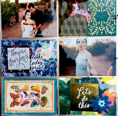 Emerald Layout from Engagement Album