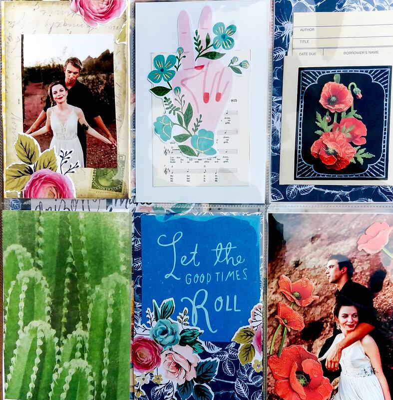 Desert Floral Engagement Layout