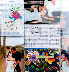 Musical Notes Engagement Layout
