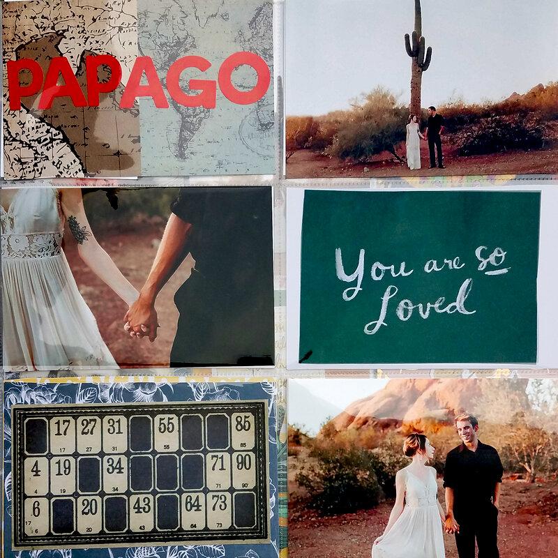 Papago Park Engagement Layout