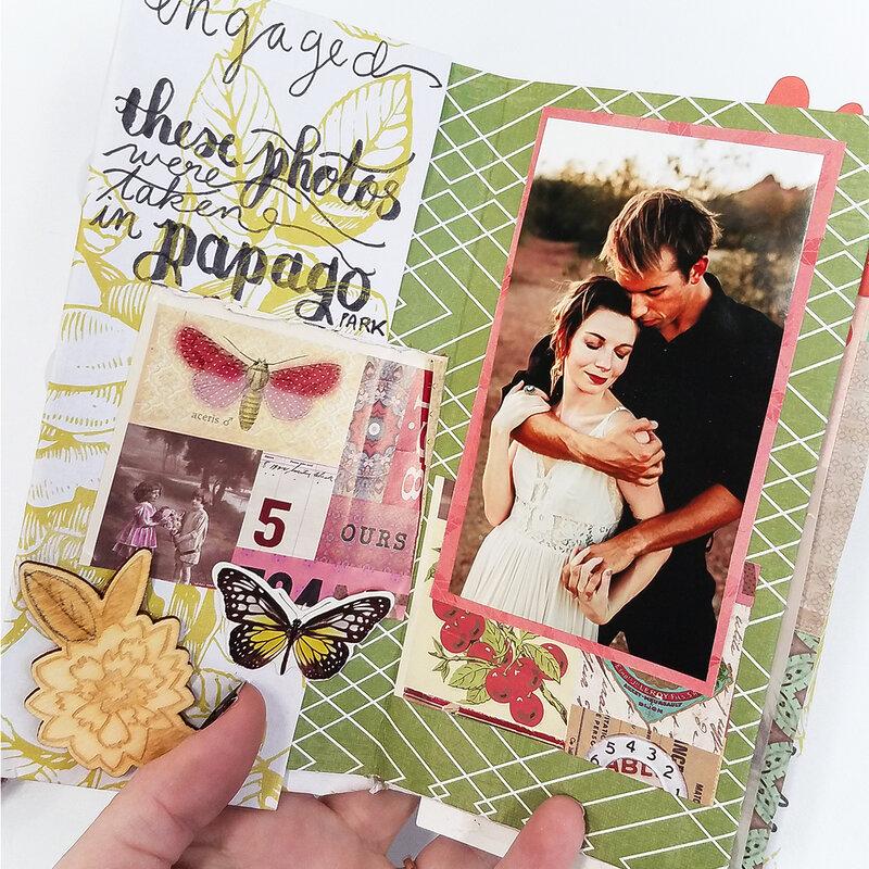 Mini Album for Engagement Photo Session!