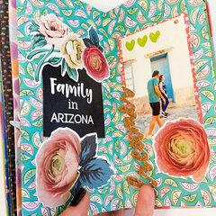 Tucson Paperfolded Mini Album