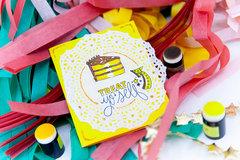 Treat Yo' Self Birthday Card