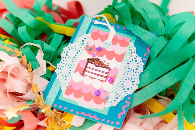 Sweet Celebration Birthday Card