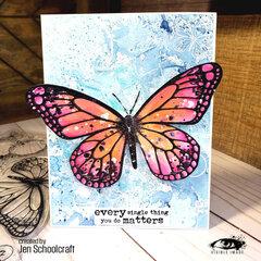 Big, Beautiful Butterfly!