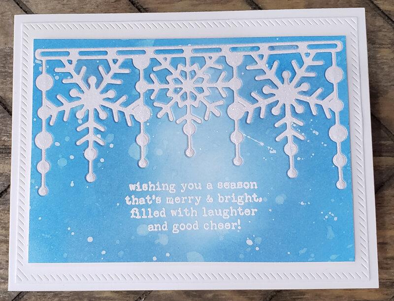 Glittery Snowflakes