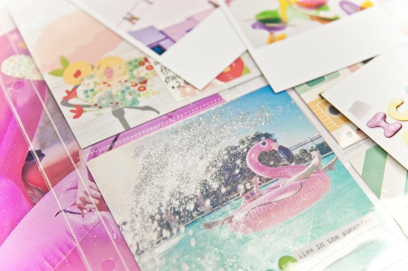 Sparkle + Splash Summertime Pocket Page