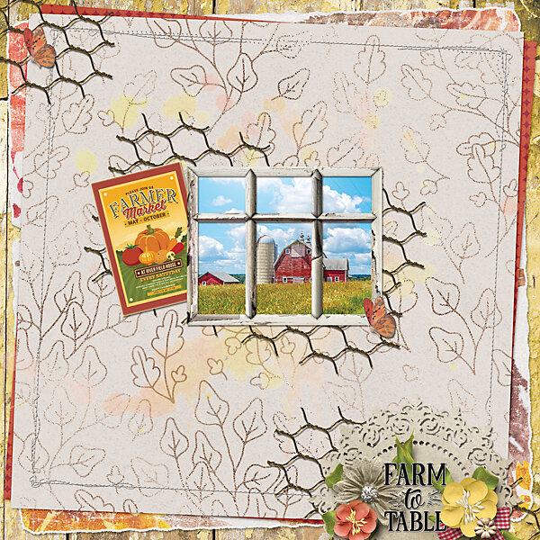 GingerBread Ladies Monthly Mix: Harvesting Memories