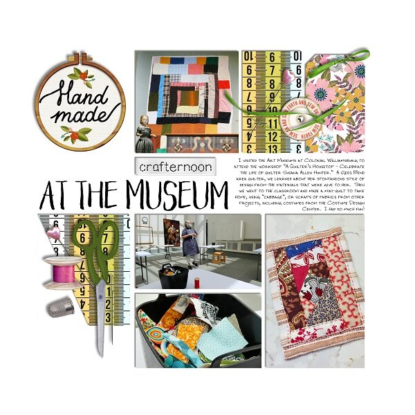 Crafternoon at the Museum
