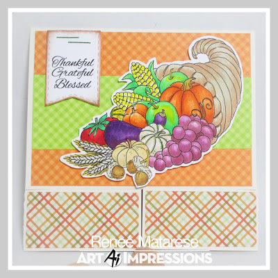 Harvest Card and Treat Box Suite