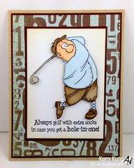 Art Impressions Gordon Golfer Set