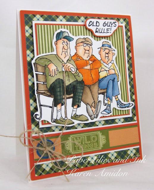 Art Impressions Old Guys Club Set