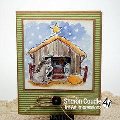 Mini Tryfold - the Nativity