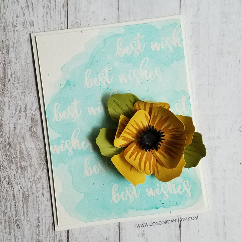 Card with Pretty Petals