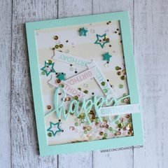 Birthday Card with Happy Words!