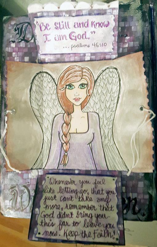 Faith (inner flap Angel)