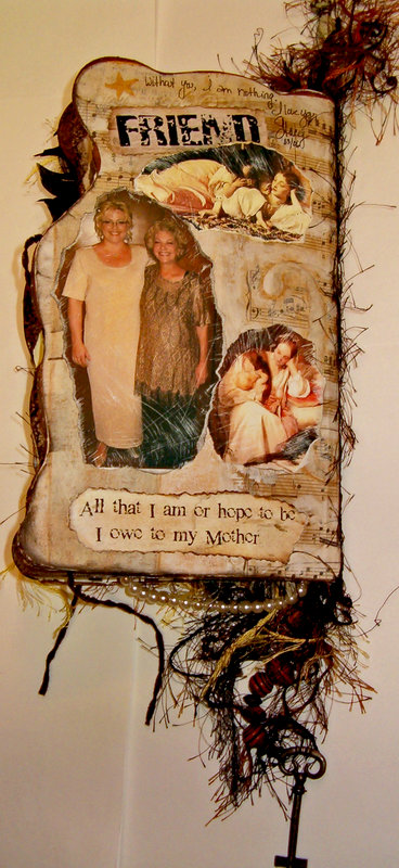 Back Cover (Momma's Altered Book)