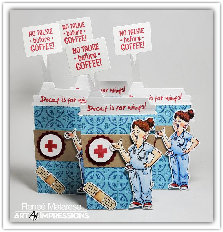Proud nurses run on coffee!