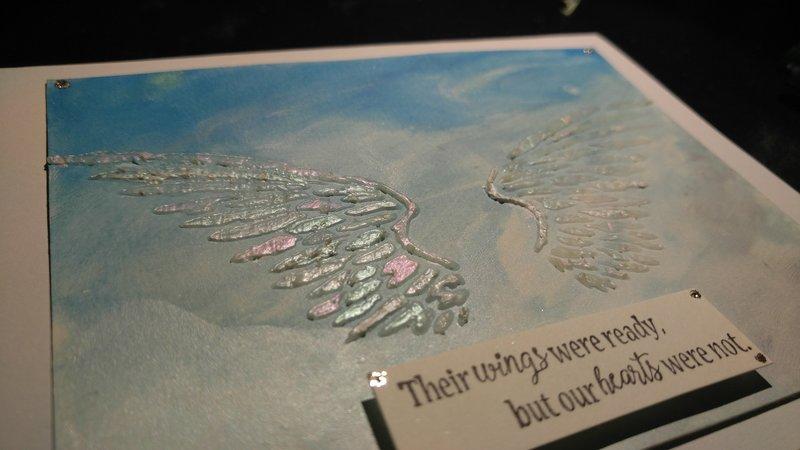Large Card 3D Sculptural Sympathy Card