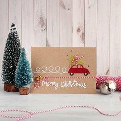 Christmas Card with little car
