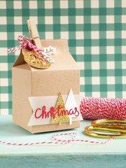 Christmas Gift - Milk Carton Box