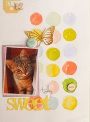 Sweet cat - DT Sizzix