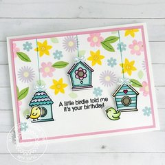 Sunny Studio Stamps A Bird's Life Card by Amy Yang
