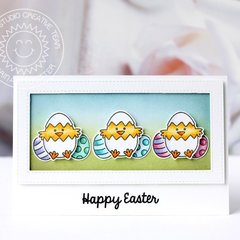 Sunny Studio Stamps A Good Egg Easter Card by Karin Åkesdotter