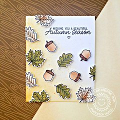 Sunny Studio Stamps Fall Leaves Card by Francesca Vignoli