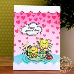 Sunny Studio Stamps Froggy Friends Card by Eloise Blue